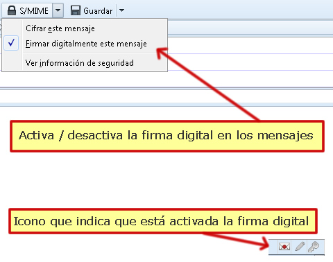 firma digital email
